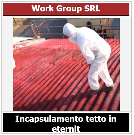 incapsulamento tetto in amianto, preventivo