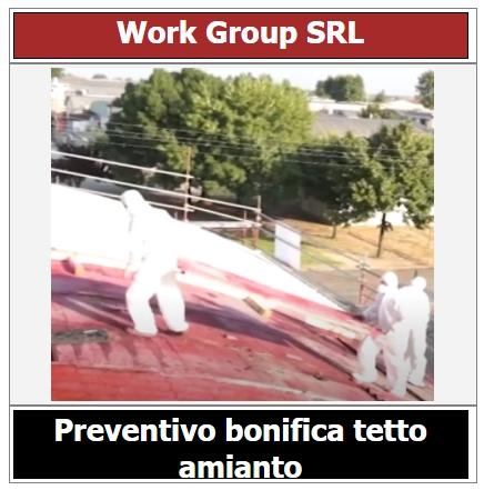 preventivo bonifica tetto amianto