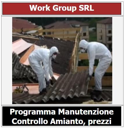 Prezzo programma manutenzione e controllo amianto