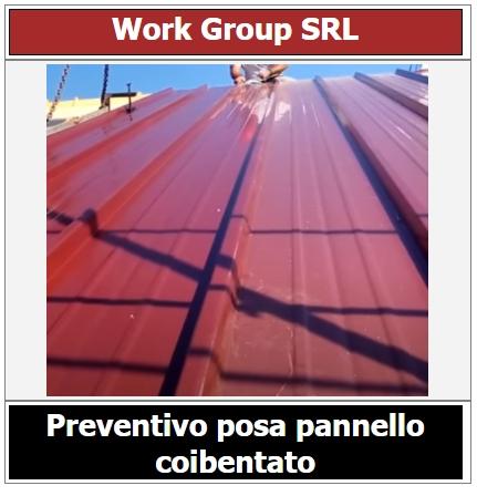 preventivo rifacimento tetto con pannello coibentato